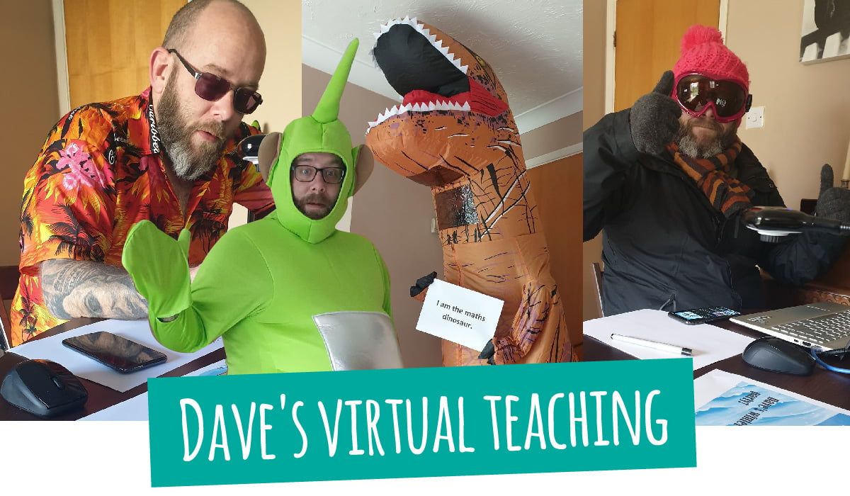 Dave's virtual teaching